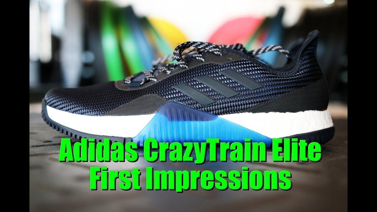adidas crazytrain impulso elite prima impressione su youtube