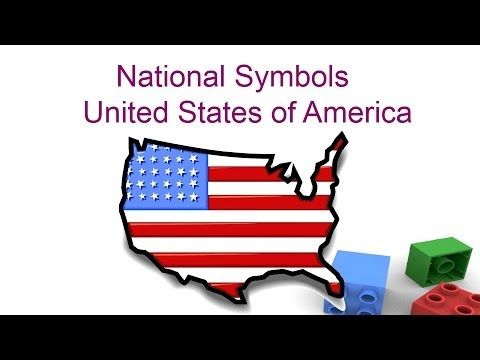 National symbols of United states of America for kids - Preschool and Kindergarten children