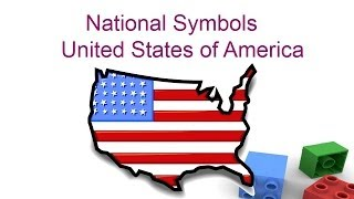 National symbols of United states of America for kids - Preschool and Kindergarten children