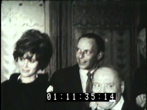 Frank Sinatra Dean Martin Tony Curtis Billy Wilder Jill St. John 1963 Hollywood party
