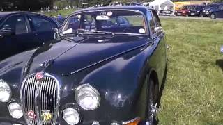 Jaguar 420 at raby castle car show