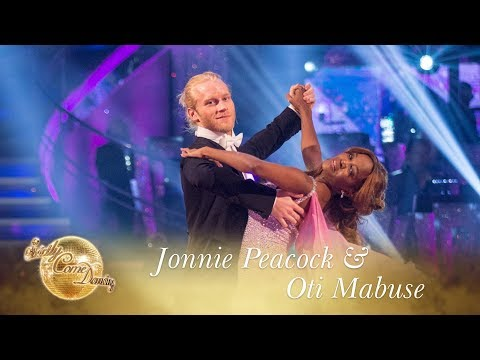 Jonnie Peacock and Oti Mabuse Waltz to 'When I Need You' - Strictly Come Dancing 2017