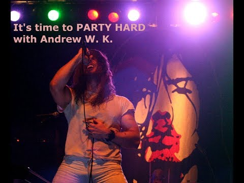 Andrew WK, interview 2 at Riot Fest