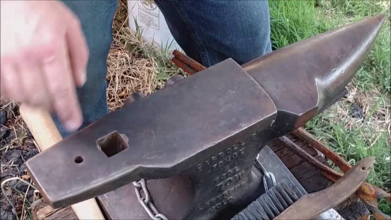 Valhallas Workbench Anvil Anatomy and Care - YouTube