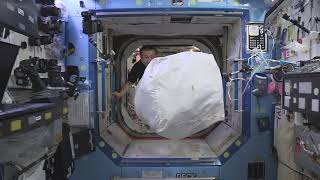 TAKING OUT THE TRASH ON THE INTERNATIONAL SPACE STATION WITH KOICHI WAKATA