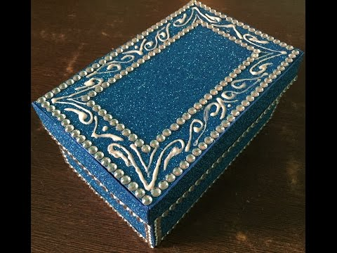How to make jewellery box -easy and attractive!
