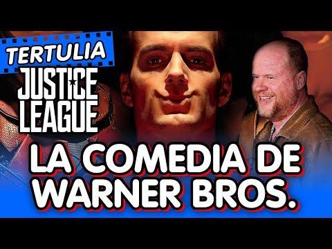 Liga de la Justicia y La comedia de Warner Bros. 🎬 Tertlua c/ John Doe
