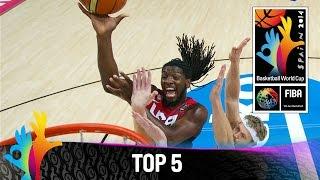 Top 5 Plays - 09 September - 2014 FIBA Basketball World Cup
