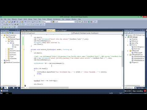 SMS and OTP tutorial in c# visual studio desktop application