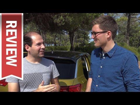 VW T-Roc: Blick in den Kofferraum, umgeklappte Rückbank & Kofferraumvolumen