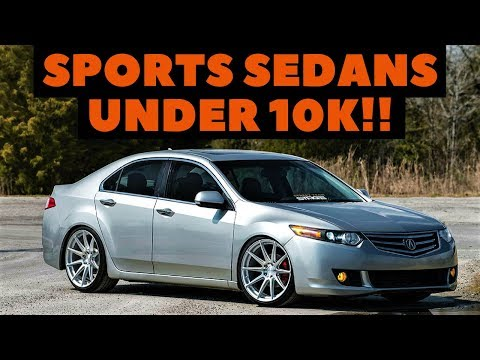 5 sports sedans under 10k