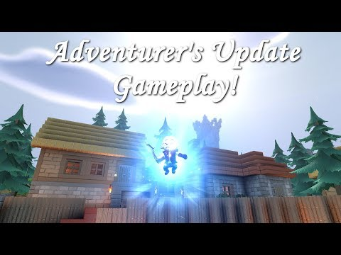 A First Look at Adventurer's Update Gameplay - Let's Play Portal Knights 1.3.0 | E39