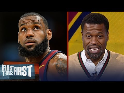 Stephen Jackson on why LeBron's Cavs won't make the Eastern Conference Finals | FIRST THINGS FIRST