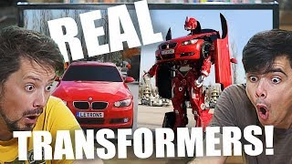 Real Life Transformer Cars That Actually Exist!