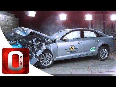 Audi A4 2016 • Crash Test [HD] (Option Auto News)