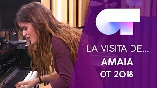 VISITA de AMAIA (19 DIC) | OT 2018