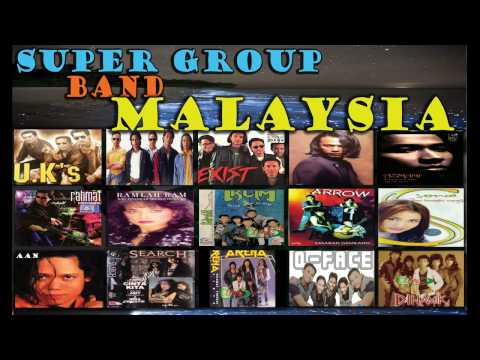 15 Super Group Band Malaysia - Malaysia Nostalgia Popular Hits 90 Years