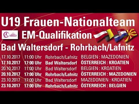 17.10.17 Kroatien Frauen U19 - Österreich Frauen U19