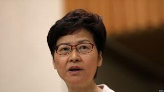 VOA连线(海彦):香港25名民主派议员提出弹劾行政长官林郑月娥