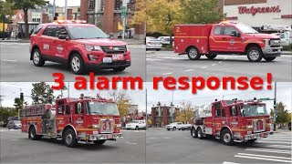 *HUGE* Seattle FD Response: 5 tillers, brand new chief and more!