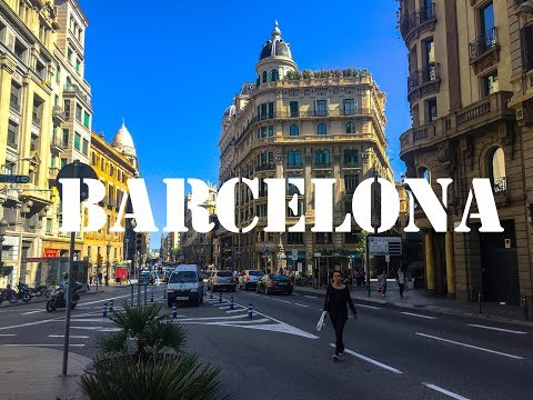 Short walk in Barcelona - May 2017 | GoPro Hero 5