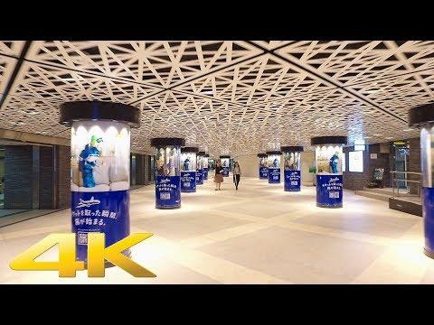 Walking around Ginza underground passage, Tokyo - Long Take【東京・銀座地下道】 4K