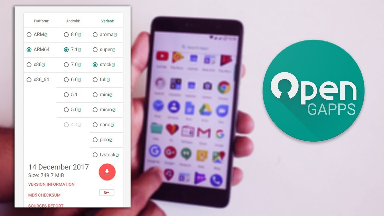Micro Vs Stock GApps || Which One To Flash?