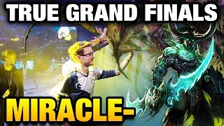 Miracle- [Terrorblade] THIS IS THE TRUE GRAND FINALS Liquid vs LFY Dota 2