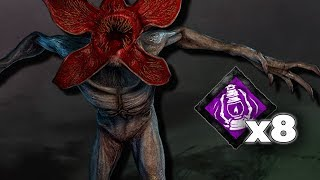 DEMOGORGON WITH 8 STACK DYING LIGHT!! - Stranger Things Chapter Dead by Daylight!