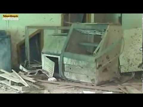Zozobra en San Andrés de Cuerquia por ataque explosivo