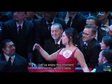 The Met: Live in HD 2016-2017 - La Traviata: Brindisi (The Drinking Song)