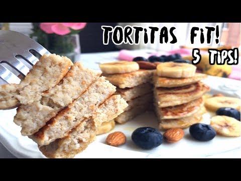 5 TIPS para unas tortitas FITNESS PERFECTAS! ♡ | Principiantes