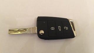 Выкидной ключ VW Golf 7 - разбор