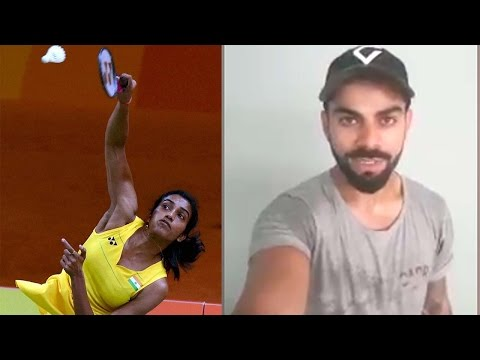 Virat Kohli has a special message for PV Sindhu for her finals at Rio Olympics|Oneindia News