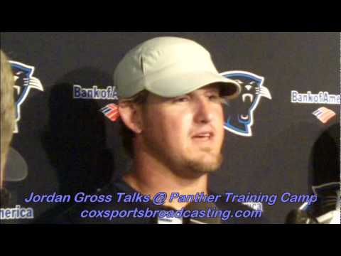 Jordan Gross Talks @ Panthers Training Camp.mov