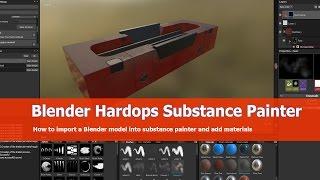 Blender Hardops Substance Painter Tutorial