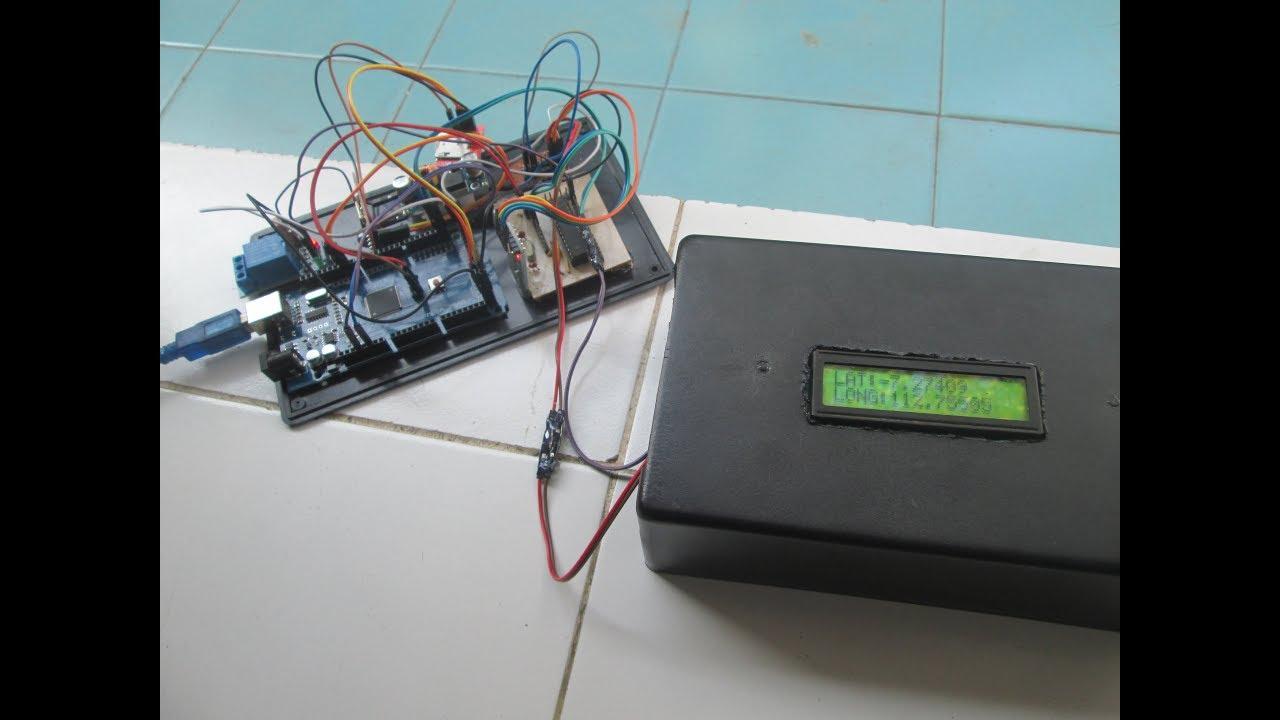 Membuat alat pelacak posisi GPS dengan SMS dan kendali Relay via HP