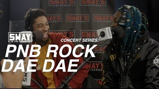 PnB Rock and DaeDae Perform Live on Sway in the Morning's In-Studio Concert Series