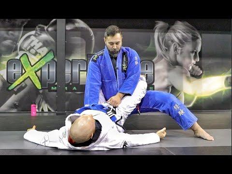 Jiu-Jitsu Fundamentals | Closed Guard Break to Knee Slice Pass
