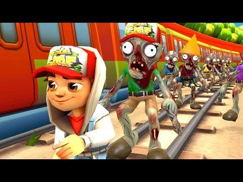Subway Surfers Vs Zombies