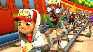 Subway Surfers vs Zombies