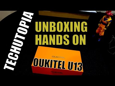OUKITEL U13 Unboxing&Hands on&First Look(Cheapest smartphone with 64GB of storage)