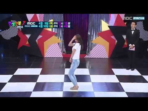 150409 AOA Hyejeong혜정   Short Hair + Miniskirt + Like a Cat @ Match made in Heaven Returns