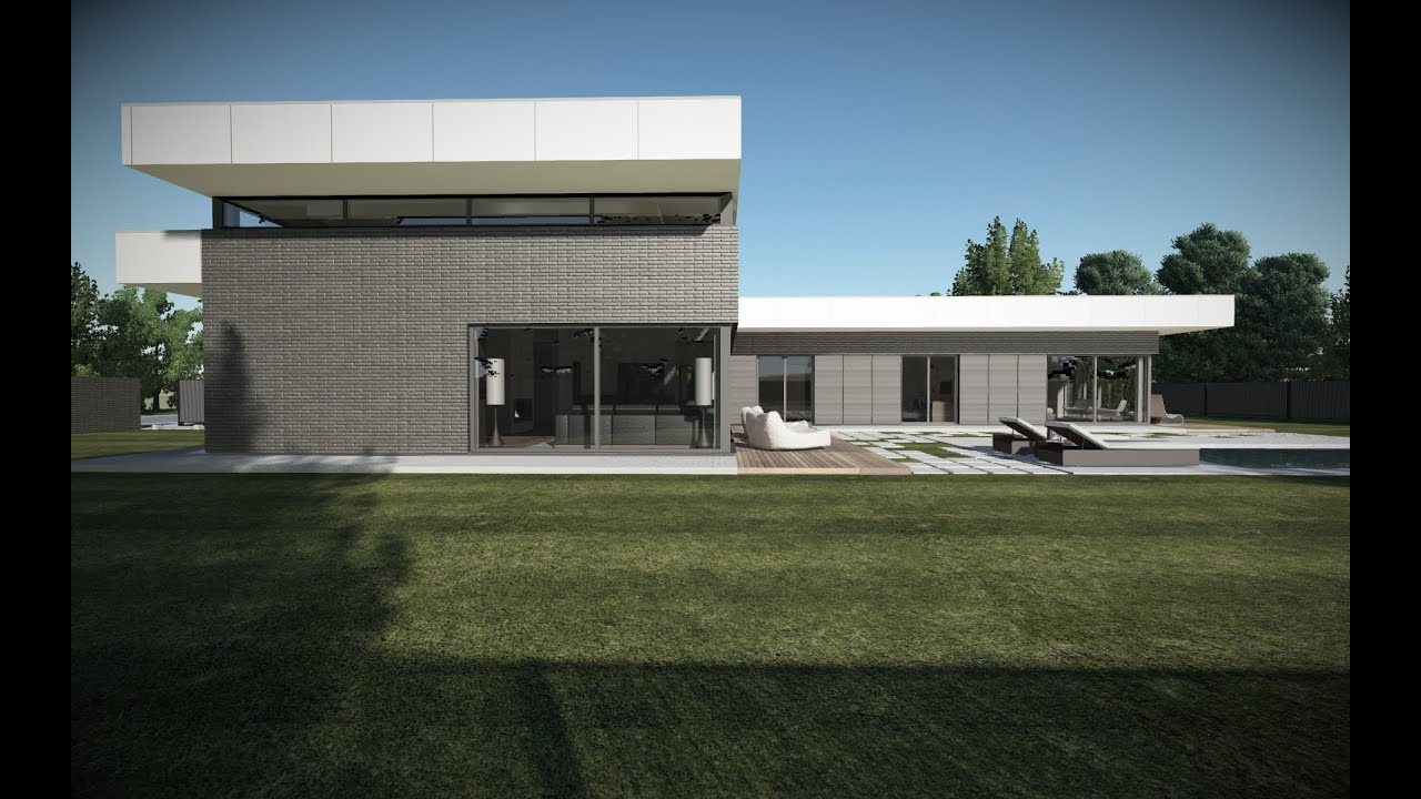 Modern house project villa v by ng architects youtube for Modern house design bloxburg