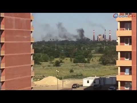 Выброс на электродном заводе в Новочеркасске 05.07.2019