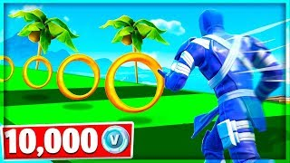 FORTNITE PARKOUR in WHICH i LOST 10,000 v BUCKS! w/Cofi