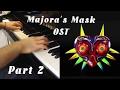 The Legend of Zelda: Majora's Mask COMPLETE Soundtrack for Piano Solo Part. 2