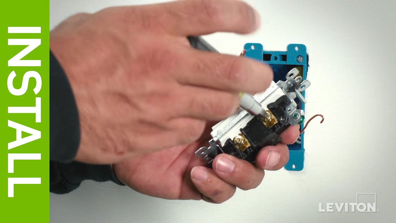 Leviton Presents How To Wire A Device Using The Side Wiring Method Methods