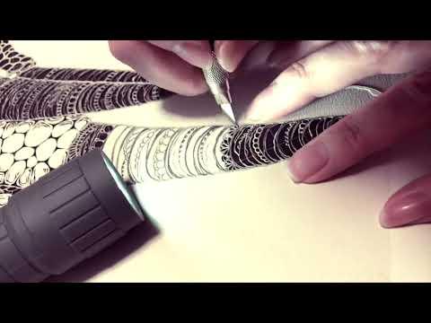 Artist Cuts Paper into Realistic Portrait of Chameleon - 1047392-1