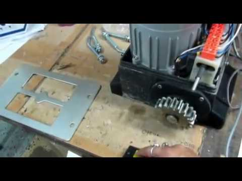 How To Install Sliding Gate Motor Sp Id